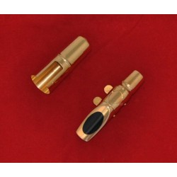 TOP Gold Plated Jazz Metal Mouthpiece For Alto Saxophone Eb Sax Mouth