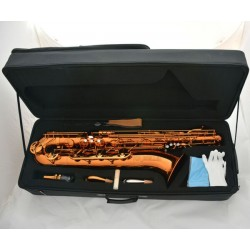 Professional Coffee colour baritone saxophone Bari Sax W/case Accessories