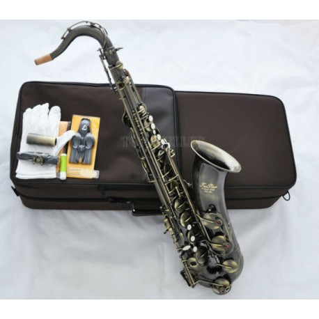 Professional Superbrass Antique Bronze Tenor Sax Saxophone High F# Saxofon with Case