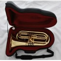 Professional Gold Brass Marching Baritone Tuba Horn Instrument With Case