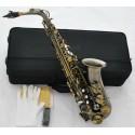 High Grade Antique Alto Saxophone Sax High F# New Saxofon With Case