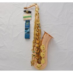 Professional Phosphor Brass Tenor saxophone High F# B-Flat Sax ABALONE Keys