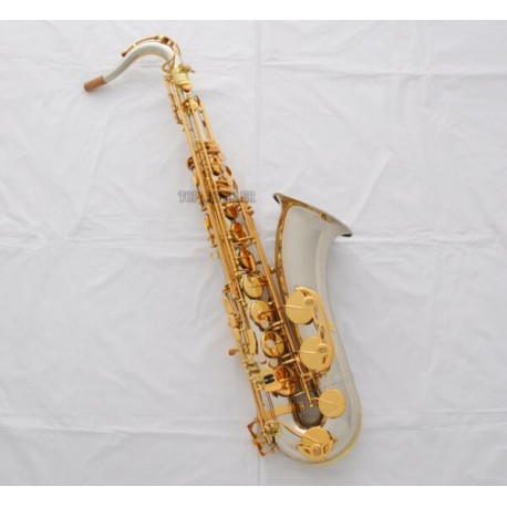 Professional Cupronickel Body Tenor Bb Saxophone sax High F# With Case