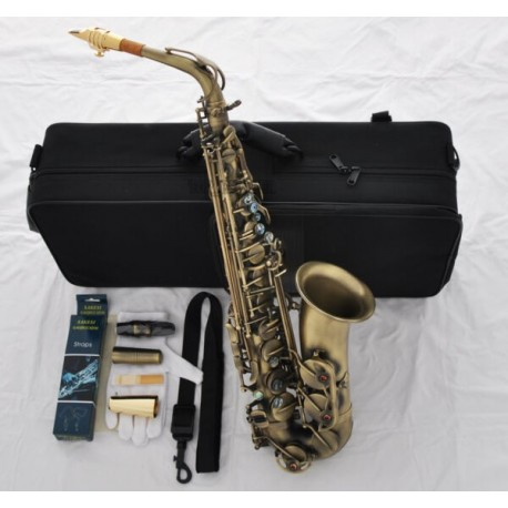 Professional 54 Reference Model Alto Saxophone Antique Eb Sax +Metal Mouthpiece