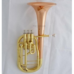 High Grade Rose Brass Bell Alto Horn Eb Keys 3 Piston in stock With Case
