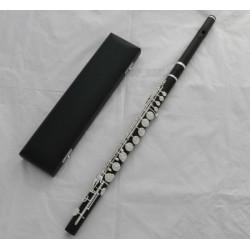 Professionalesssional SR Brand Grenadilla Ebony Wood Wooden Alto Flute G key With Case