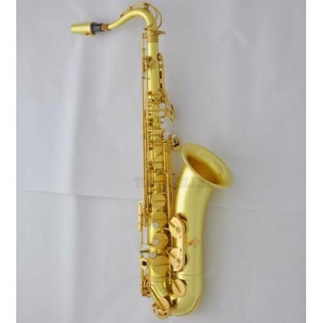 Professional Customized Original brass Tenor Saxophone Sax B-Flat With Case