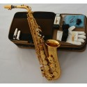 Professional Gold Mercury Alto Saxophone Sax With Metal Mouth Engraving Bell