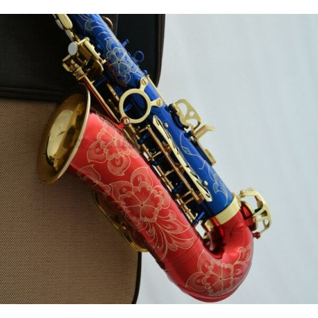 Professional Individuati Alto Saxophone Eb Sax Hand Engraved Bell With Case
