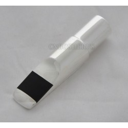 Metal Soprano Saxophone sax Mouthpiece Silver Plated new