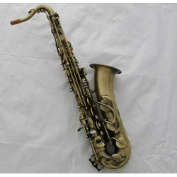 Professional Antique Brass C Melody Sax Saxophone High F# + 2 Neck With Case