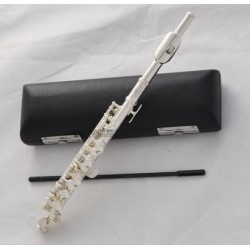 New Superbrass Silver Plated C Key Piccolo Flute With Case