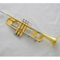 est Professional Gold Heavy Trumpet B-Flat Horn Germany Brass With Case