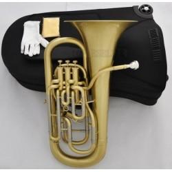 Professional Matt Brass Compensating System Euphonium Horn B-Flat Monel Valves