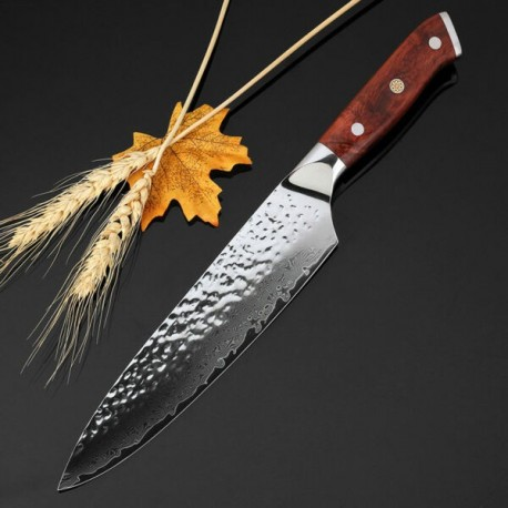 New 8 Inch Chef Knife Japanese Vg10 Damascus Stainless Steel Kitchen Knives