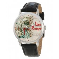 Lone Ranger & Tonto - Vintage 1950s Western TV Show Solid Brass Wrist Watch