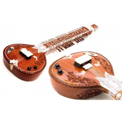 Lefty Left-Handed Acoustic-Electric Wooden Resonator Sitar