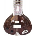 Acoustic Electric Fusion Sitar. Pro-Grade Dark Rosewood Calcutta Version Ravi Shankar Config