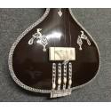 Acoustic-Electric Flat Instrumental Tanpura Tamburi for Instrument (Sitar etc) Accompaniment. 39 inches