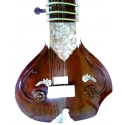Classic Cutaway Design Electric-Acoustic SITAR. Pro-Grade Studio Version