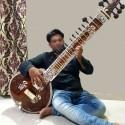 Pro-Grade Surbahar SUR BAHAR Indian Bass Sitar Calcutta Instrument. Full Carving