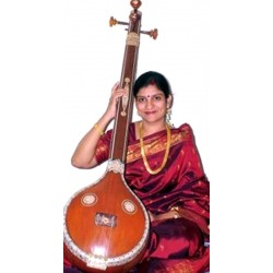 Carnatic (South Indian) Lafies Tanpura / Tambura with Bronze Bridge and Classic Jackwood Construction