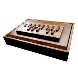 SHRUTI BOX PALOMA SURPETI TEAKWOOD 13 STOPPERS
