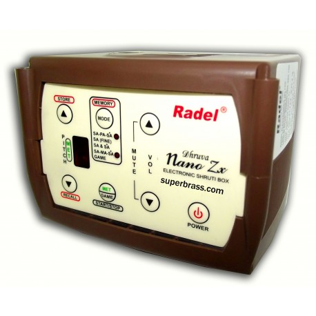 RADEL DHRUVA NANO ELECTRONIC DIGITAL SHRUTI BOX SURPETI. LATEST EDITION.