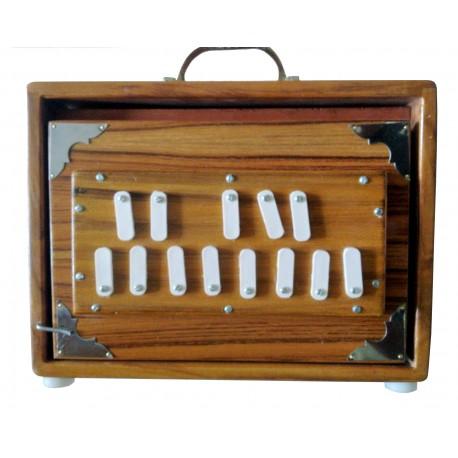 Shrutibox TATTVA Long Breath 13 Stops, 440 Hz, Teak Wood, Yoga, Mantra, Shruti Box