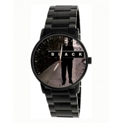 Black! Colin Vearncombe Tribute Commemorative Pop Art Titanium Finish Black Wrist Watch