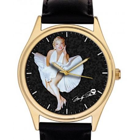 Marilyn Monroe Classic Seven Year Itch Cult Art Solid Brass Hollywood Wrist Watch
