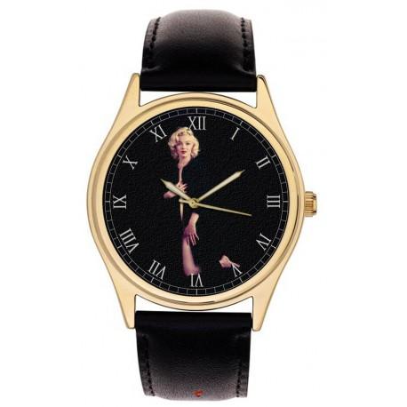 Marilyn Monroe Classic Cult Art Solid Brass Hollywood Wrist Watch