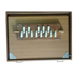 Concert Shruti Box, Original Monoj Kumar Sardar MKS Jumbo Size 16 x 13 inches Ultra Long Sustain