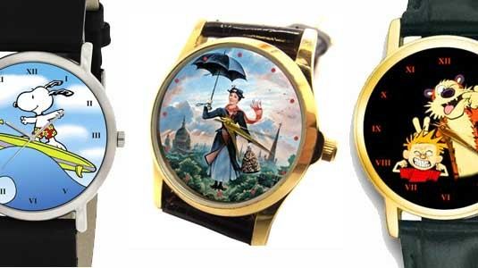 Comic Art Collectible Watches